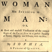 2016-06 No3 Woman not inferior to man titlepage
