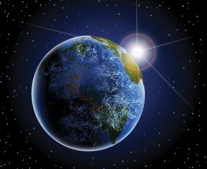 2017-02 No3 Earth-from-Space-Vector